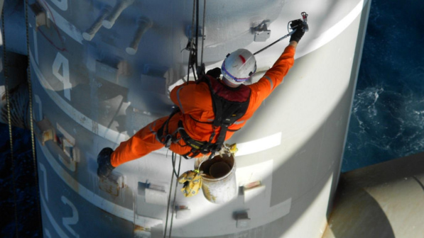 rope access service in melbourne by WASP