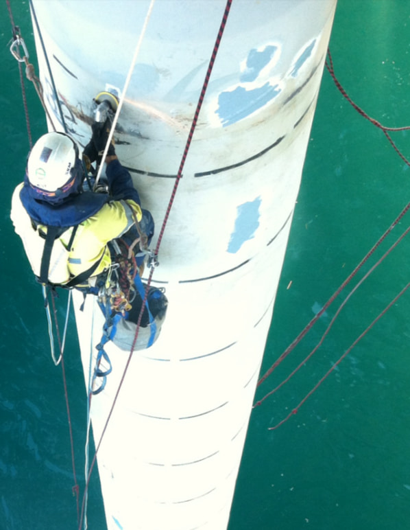rope access for difficult to reach places